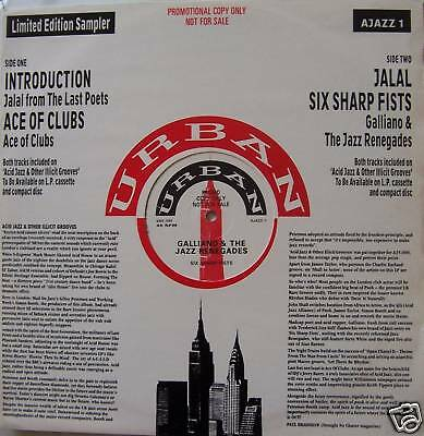 """ACE OF CLUBS ~ Limited Edition Sampler ~ 12"""" Single PS"""