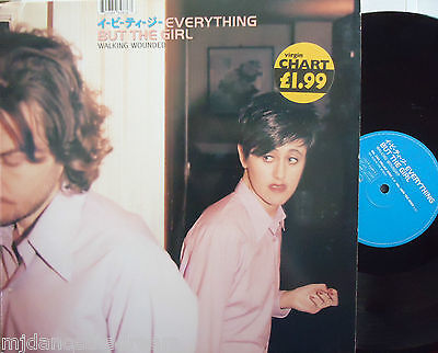 """EVERYTHING BUT THE GIRL ~ Walking Wounded ~ 12"""" Single PS"""