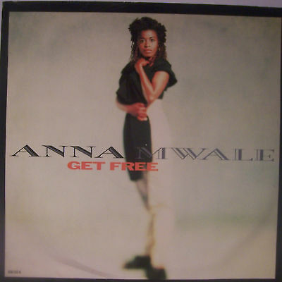 "ANNA MWALE ~ Get Free ~ 12"" Single PS"