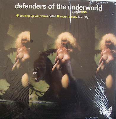 "DEFENDERS OF THE UNDERWORLD ~ Cooking Up Your Brain ~ 12"" Single PS USA PRESS"