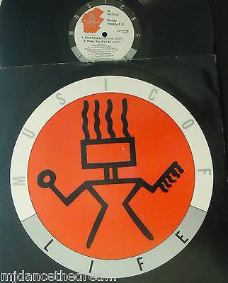 "DADDY FREDDY - EP - Nuff Respect ~ 12"" Single PS"