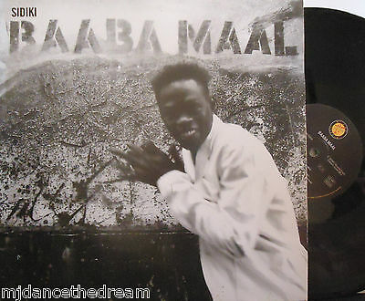 "BAABA MAAL ~ Sidiki ~ 12"" Single PS"