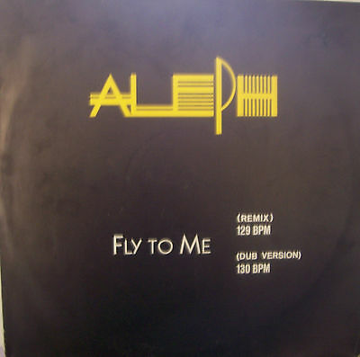 """ALEPH ~ Fly To Me ~ 12"""" Single PS - GERMAN PRESSING"""
