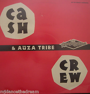 "CASH CREW & AUZA TRIBE - The Provider / My In Sense In Burning ~ 12"" Single PS"