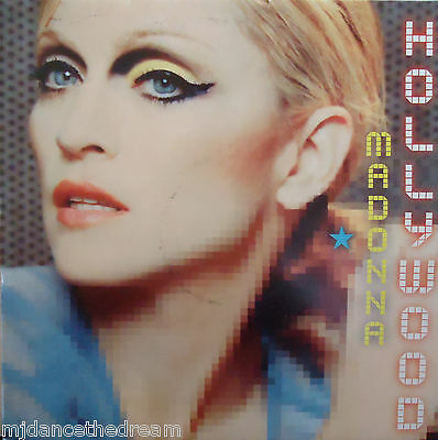 "MADONNA ~ Hollywood ~ 2 x 12"" Single PS"