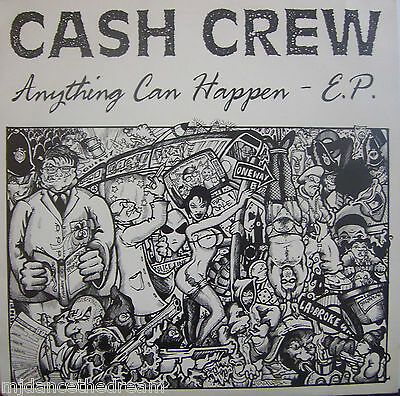 "CASH CREW ~ Anything Can Happen EP ~ 12"" Single PS"