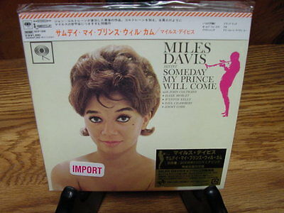 Miles Davis Someday My Prince Japan Replica Obi Tremendously Rare Limited 06 Cd