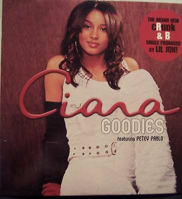 "CIARA ~ Goodies ~ 12"" Single PS"