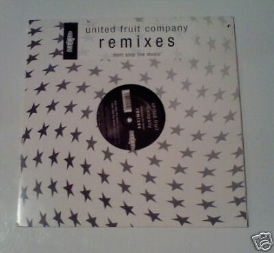 "UNITED FRUIT COMPANY - Dont Stop The Music 12"" Single"