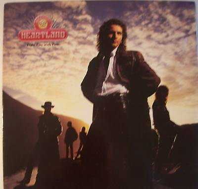 """HEARTLAND ~ Fight Fire With Fire ~ 12"""" Single PS"""
