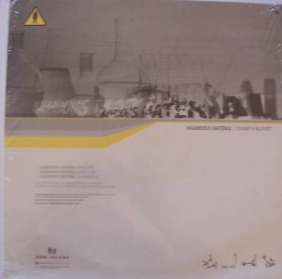 "SCANKY & BLUFOOT - Hazardous Material - 12"" Single PS"