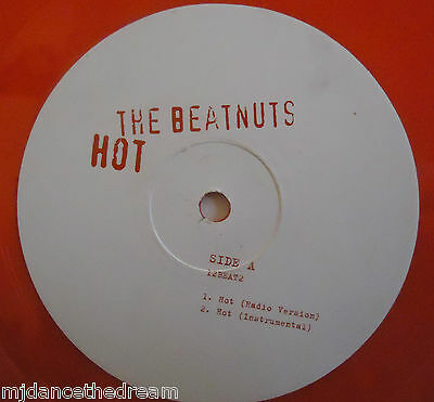 "THE BEATNUTS ~ Hot ~ 12"" Single RED VINYL"