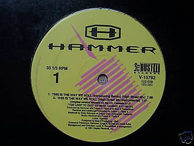 "HAMMER - This Is The Way We Roll - 12"" Single US PRESS"