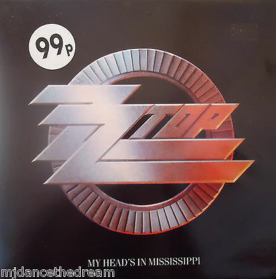 "ZZ TOP ~ My Heads In Mississippi ~ GATEFOLD 12"" Single PS"