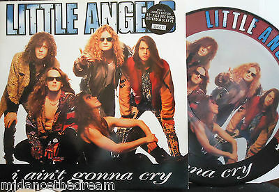 "LITTLE ANGELS ~ I Aint Gonna Cry ~ GF 12"" Single PS PICTURE DISC LTD ED #0447"