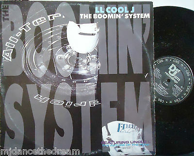 """LL COOL J ~ The Boomin System ~ 12"""" Single PS"""