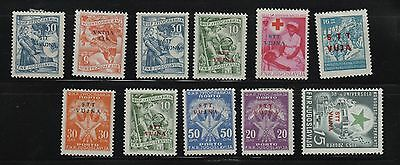 Yugoslavia, 1950 th, group of stamps, mint or used. w15
