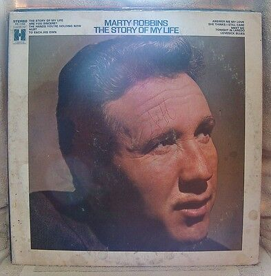 "MARTY ROBBINS, ""THE STORY OF MY LIFE"""