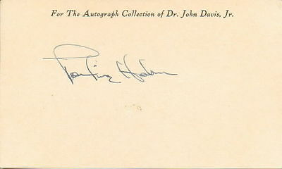 PAULINE HAHN - Broadway Child Star - Cat on a Hot Tin Roof - Autograph