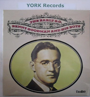 BENNY GOODMAN - The Early BG - Excellent Con LP Record
