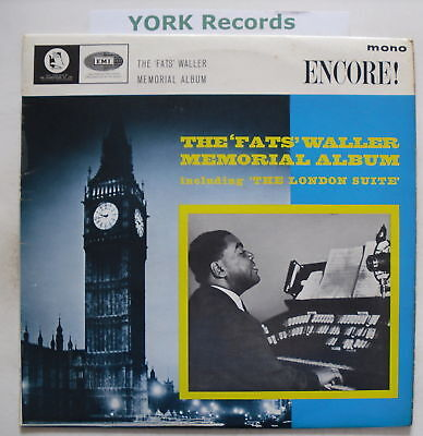 FATS WALLER - The Fats Waller Memorial Album - Ex LP