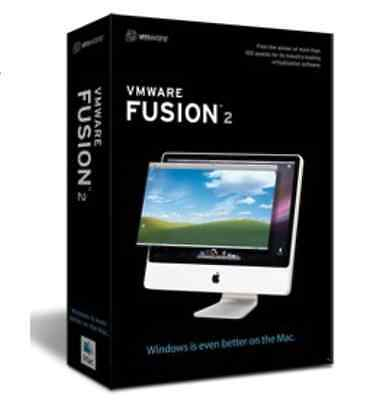 VMware FUSION 2.0 PC Virtualisation Software for MAC