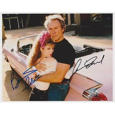Clint Eastwood & Bernadette Peters Autographed 8X10 Pink Cadillac Photo
