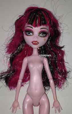 Monster High 13 Wishes Haunt the Casbah Draculaura Nude Doll LOOSE NEW for OOAK