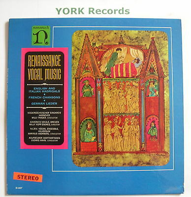 H-71097 - RENAISSANCE VOCAL MUSIC - Various - Excellent Condition LP Record