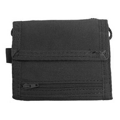 Condor #235 Vault Tri-Fold Wallet Black - Tactical Gear Molle Pouch