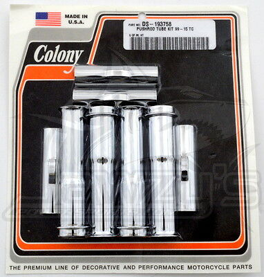 Twin Cam Quick Install Lower Pushrod Tube Kit Colony  DS193758