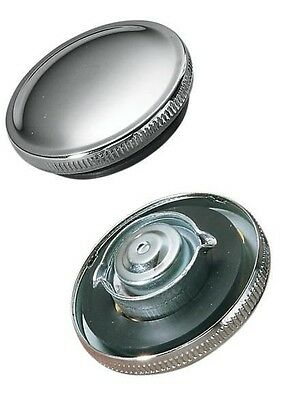 Vented Chrome Original-Style Gas Cap Drag Specialties  03-0026-BC222