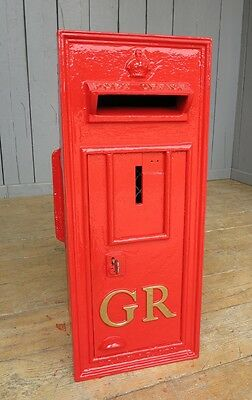 Original George 5th Wall Mounted Post Box - Royal Mail British Boxes Letter