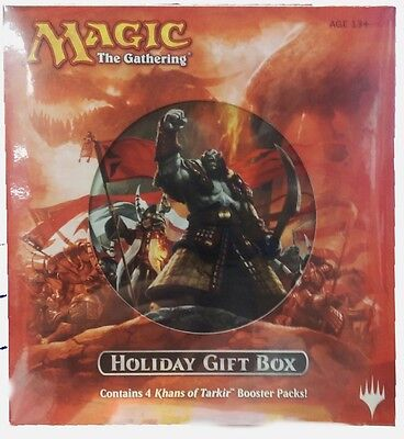 Holiday Gift Box 2014 MtG Magic the Gathering Khans of Tarkir
