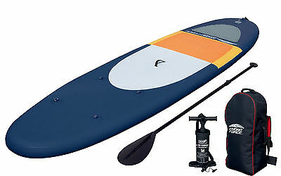 "Bestway Hydro-Force Coast Liner Inflatable Premium 10'6"" SUP StandUp Paddleboard"