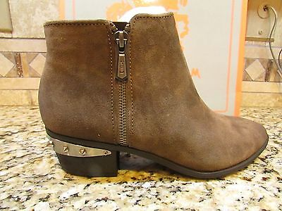 47442d83ee205 New Sam Edelman Circus Holt Suede Leather Ankle Booties Boots Womens 7.5  Free Sh