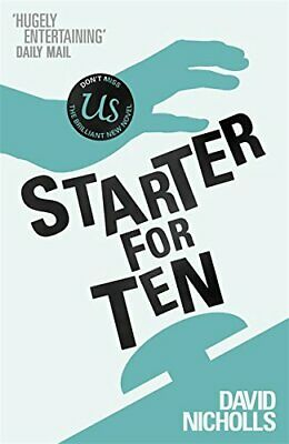 Starter For Ten by Nicholls, David Paperback Book The Cheap Fast Free Post