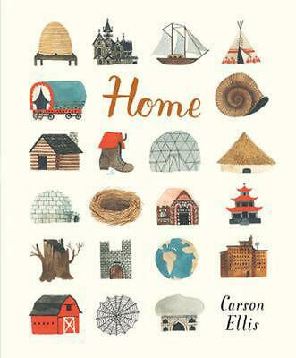 Home by Carson Ellis (English) Hardcover Book Free Shipping!