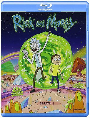 Rick and Morty TV Series ~ Complete 1st First Season 1 One ~ BRAND NEW BLU-RAY
