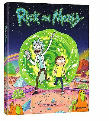 Rick and Morty ~ The Complete 1st First Season 1 One ~ BRAND NEW 2-DISC DVD SET