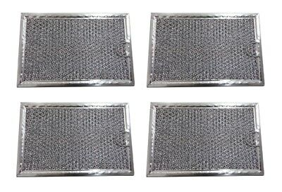 (4-Pack) Frigidaire Grease Oven Microwave Filter 5303319568 5 X 7-5/8 X 3/32