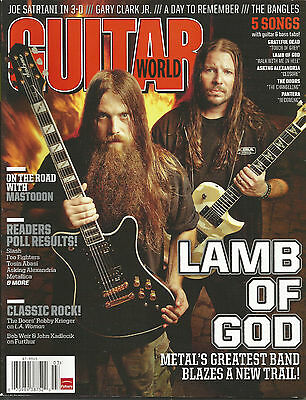 Guitar World March 2012 Lamb of God/ The Doors/ Readers Poll