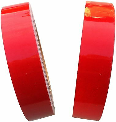 Cycling  5 Metre Self Adhesive Reflective Red Tape