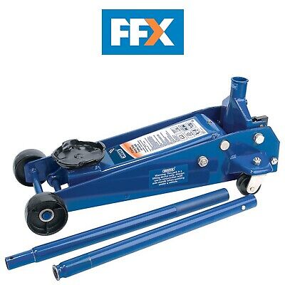 DRAPER 53089 Heavy Duty Trolley Jack (3 Tonne)