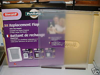 Staywell / Petsafe  Large Spare Door For  2 Way Dog Flaps  (700L)