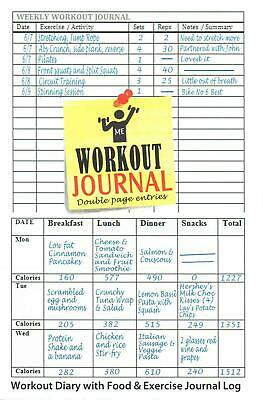 food and exercise journal workout dog daily food and exercise