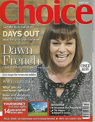 Choice Magazine - March 2015 - Dawn French