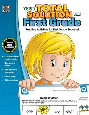 Your Total Solution for First Grade Workbook by Thinking Kids Paperback Book (En