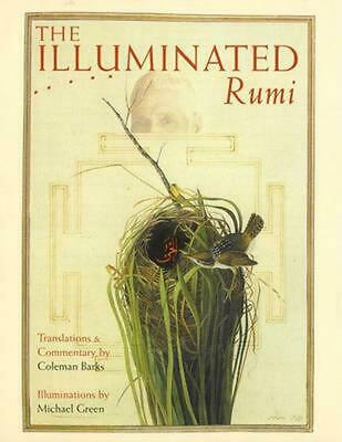 The Illuminated Rumi by Michael Green (English) Hardcover Book Free Shipping!