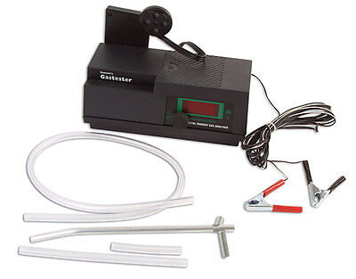 New Portable Exhaust Gas Analyzer 12V Gastester 29-4125-100 FAST SHIPPING